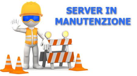Server in mnautenzione